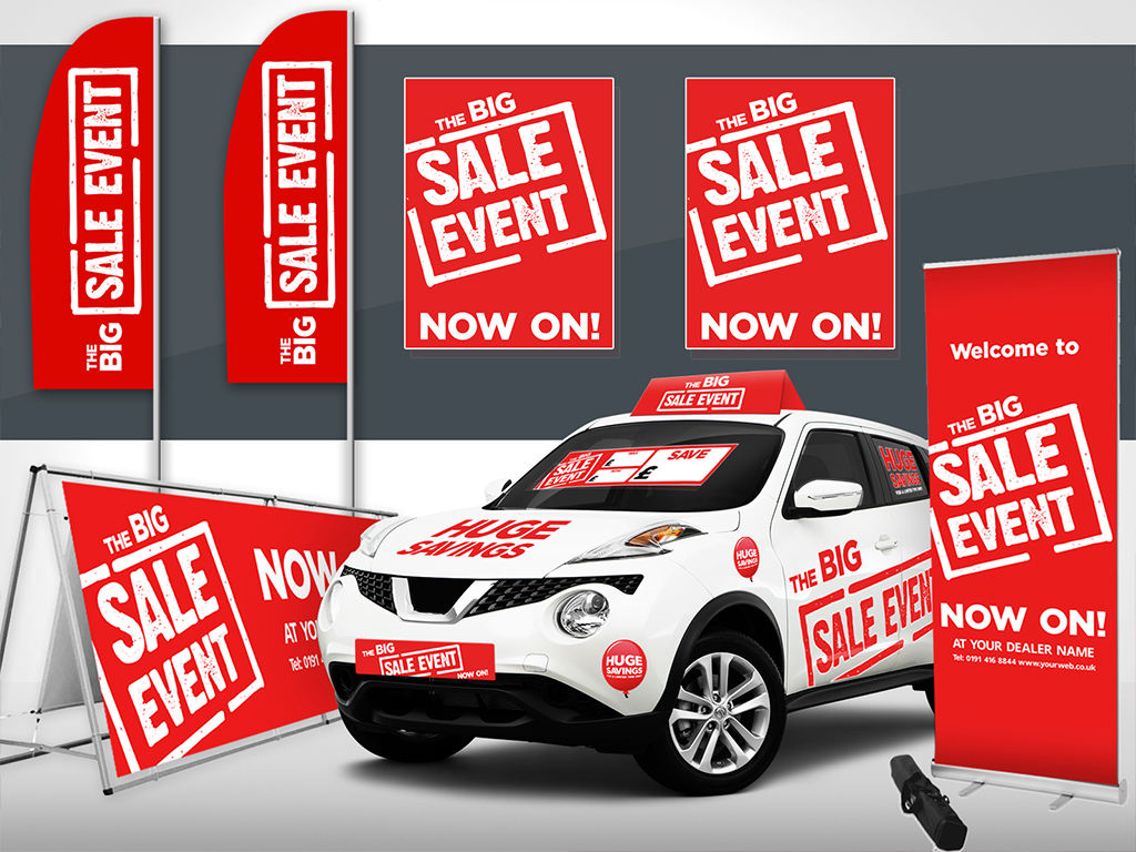 Promote your events with vehicle graphics from DVLC